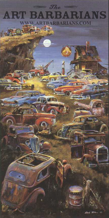 Junkyard Cars For Sale >> Wildlife art prints plus original paintings with a wide selection from ArtBarbarians.com located ...